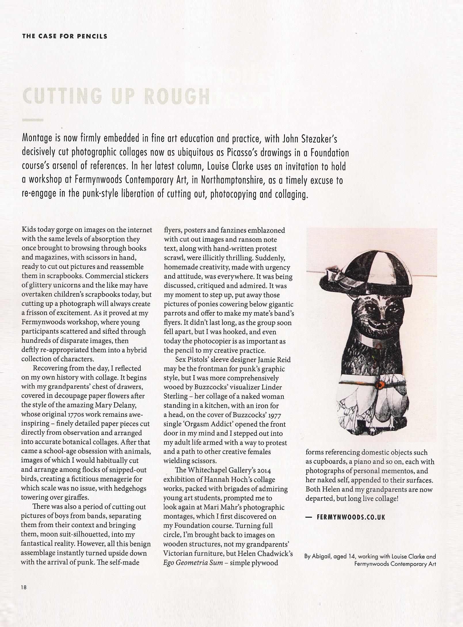 Saatchi Gallery Magazine feature