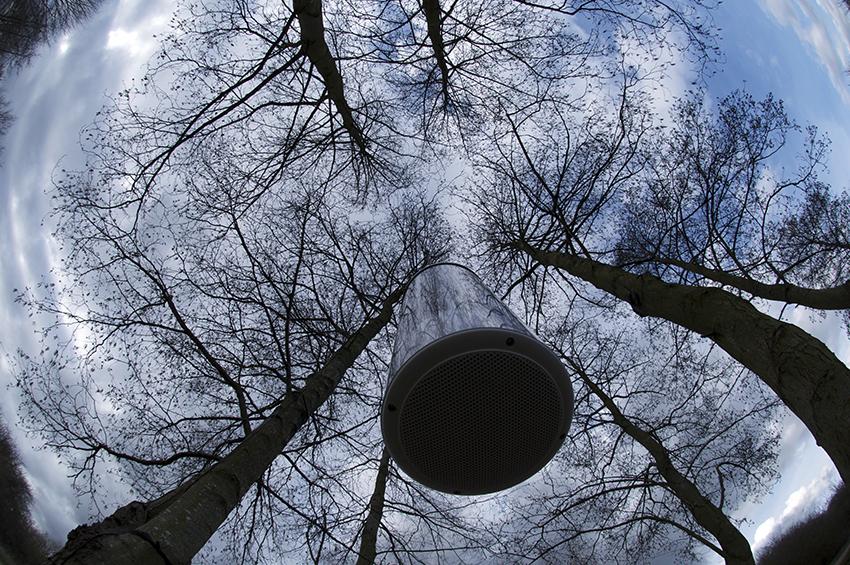 Andrew Stonyer - Audio Kinetic Solar Sculpture - Photo Barry Wenden