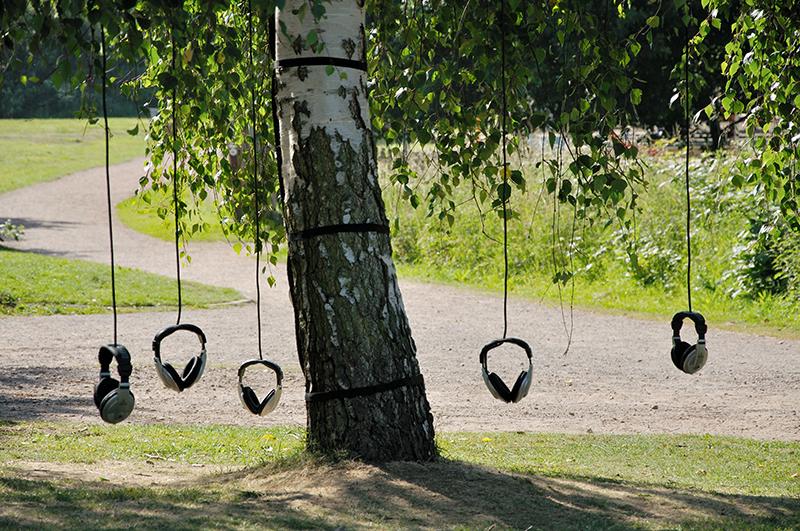 Alex Metcalf - Tree Listening Installation