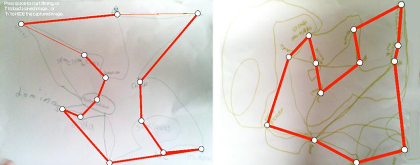 Ant Algorithm Routes
