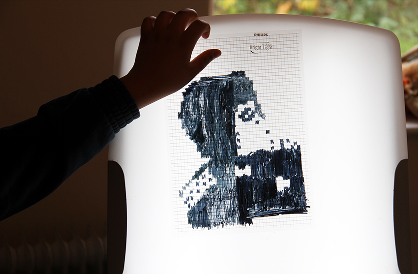 Pixelated Portraits
