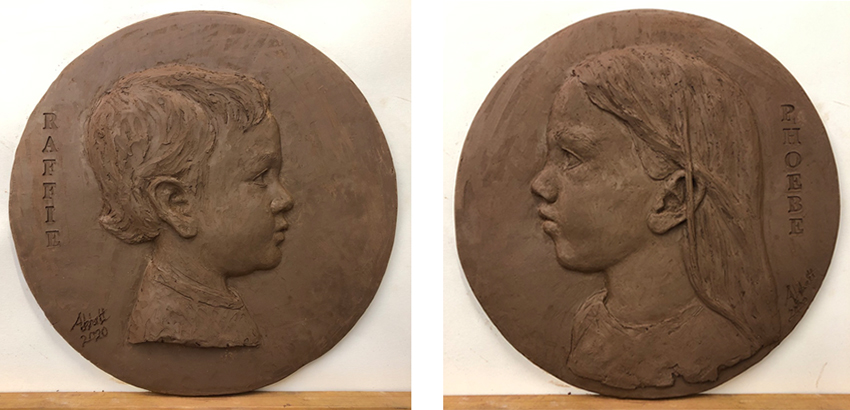 Bas-relief images