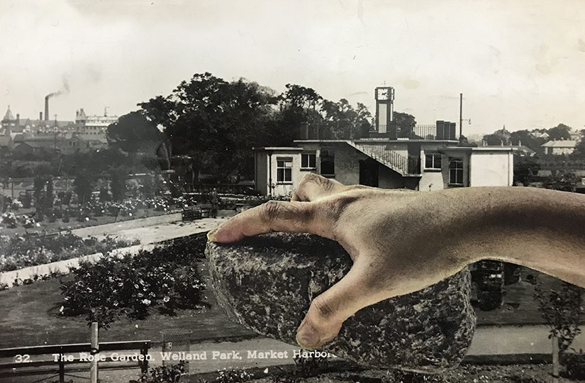 Postcard Intervention, Sarah Gillett, 2020
