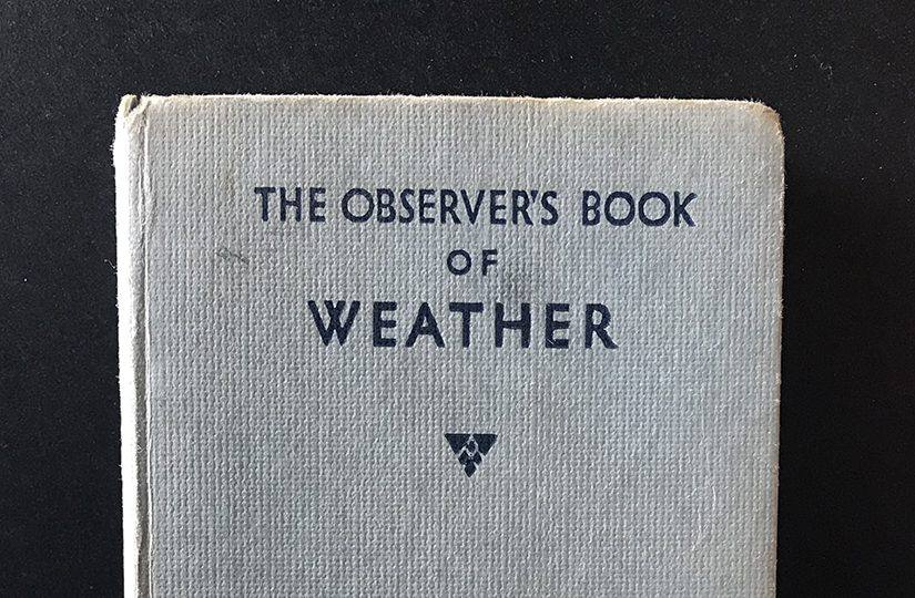 The Observer's Book of Weather, 1955