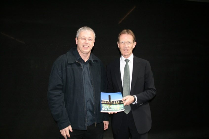 Tate Modern 10th Anniversary Andy Eathorne and Nicholas Serota
