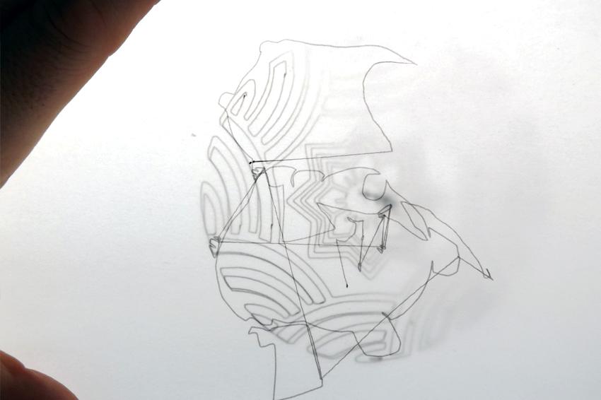 Newton Road School machine drawing 2