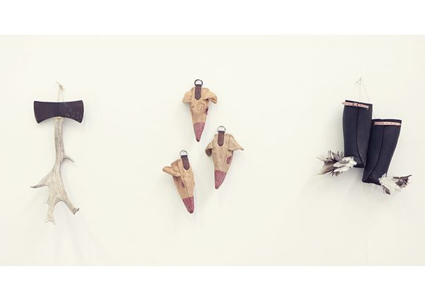 Forest Law (In Exile) installation view 2