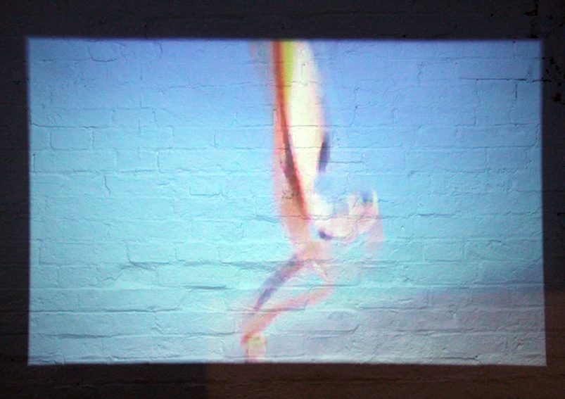 Still from Common Cold, 2004, Regan Gentry - Where to Stand in the Wind at East Carlton Park, curated by Yasmin Canvin in partnership with Fermynwoods Contemporary Art