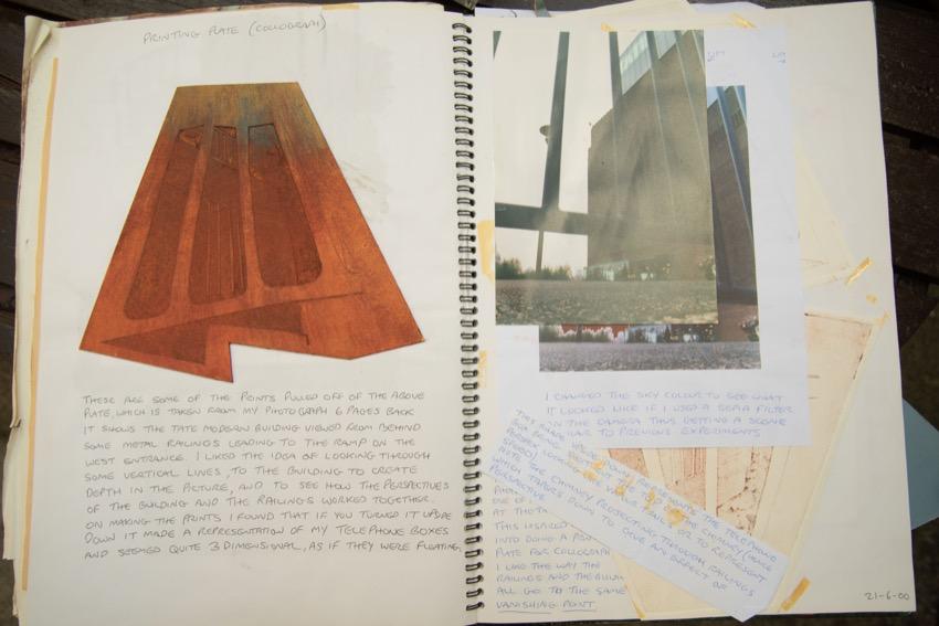 Andy Eathorne Sketchbook 2