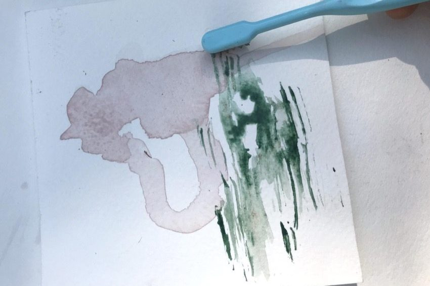 Yuragi watercolour experiments 1