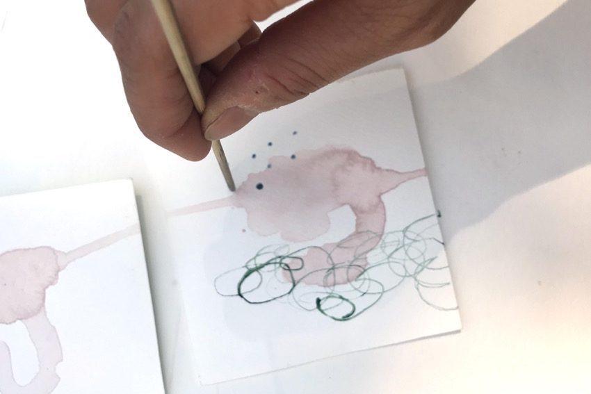 Yuragi watercolour experiments 2