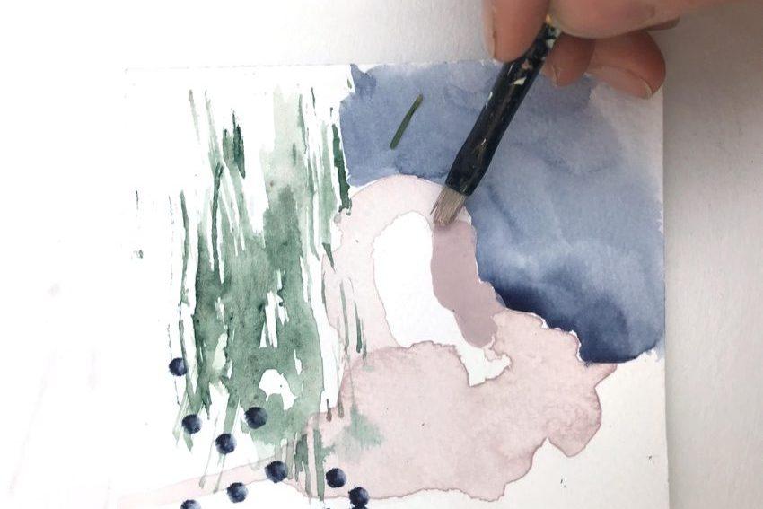 Yuragi watercolour experiments 4