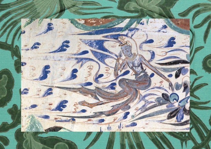 1 – Water Spirit Collage, Leyla Pillai, 2020