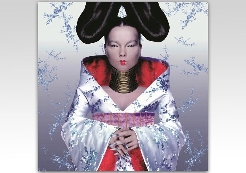 2 – Homogenic Album Cover, Björk, Alexander McQueen and Nick Knight, 1997