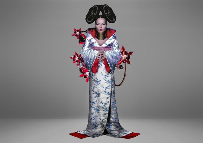 4 – Alternate Image from Homogenic, Björk, Alexander McQueen and Nick Knight, 1997